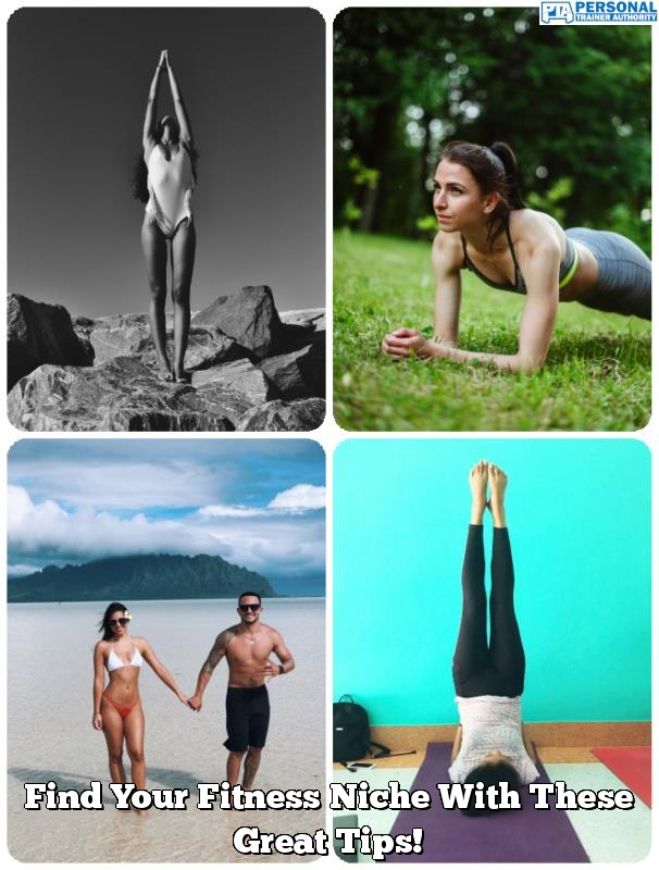 find your fitness niche with these great tips
